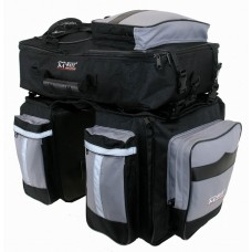 "Сумка на багажник с рюкзаком M-WAVE 3ple Traveller"", size 34 x 32 x17 cm"