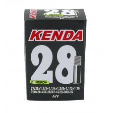 Велокамера Kenda A/27/28X1,1/8+1,1/4+1,3/8+1,1/2+1,75, 700x28-45C, 28/47-622/630/635