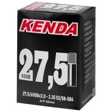 Велокамера Kenda A/V-40 mm 27,5/650Bx2,0+2/35, 52/58+584