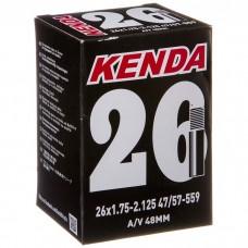 Велокамера Kenda A/V 48 mm 26x1.75-2.125, 47/57-559