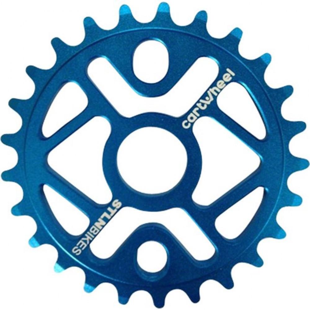 Звездочки на шатуны Stolen 5MM CNC 6061 DARK BLUE