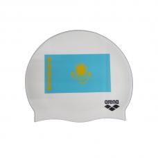 Шапочка для плавания Arena Silicone Kaz flag