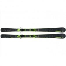 Elan  лыжи горные Element black LS el10 shift  black-green