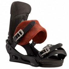 Burton крепления сноубордические мужские Malavita Marbled Leather- 2021