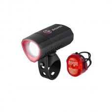 Комплект вело фонарей Sigma Buster 300 / Nugget Flash II usb k-set