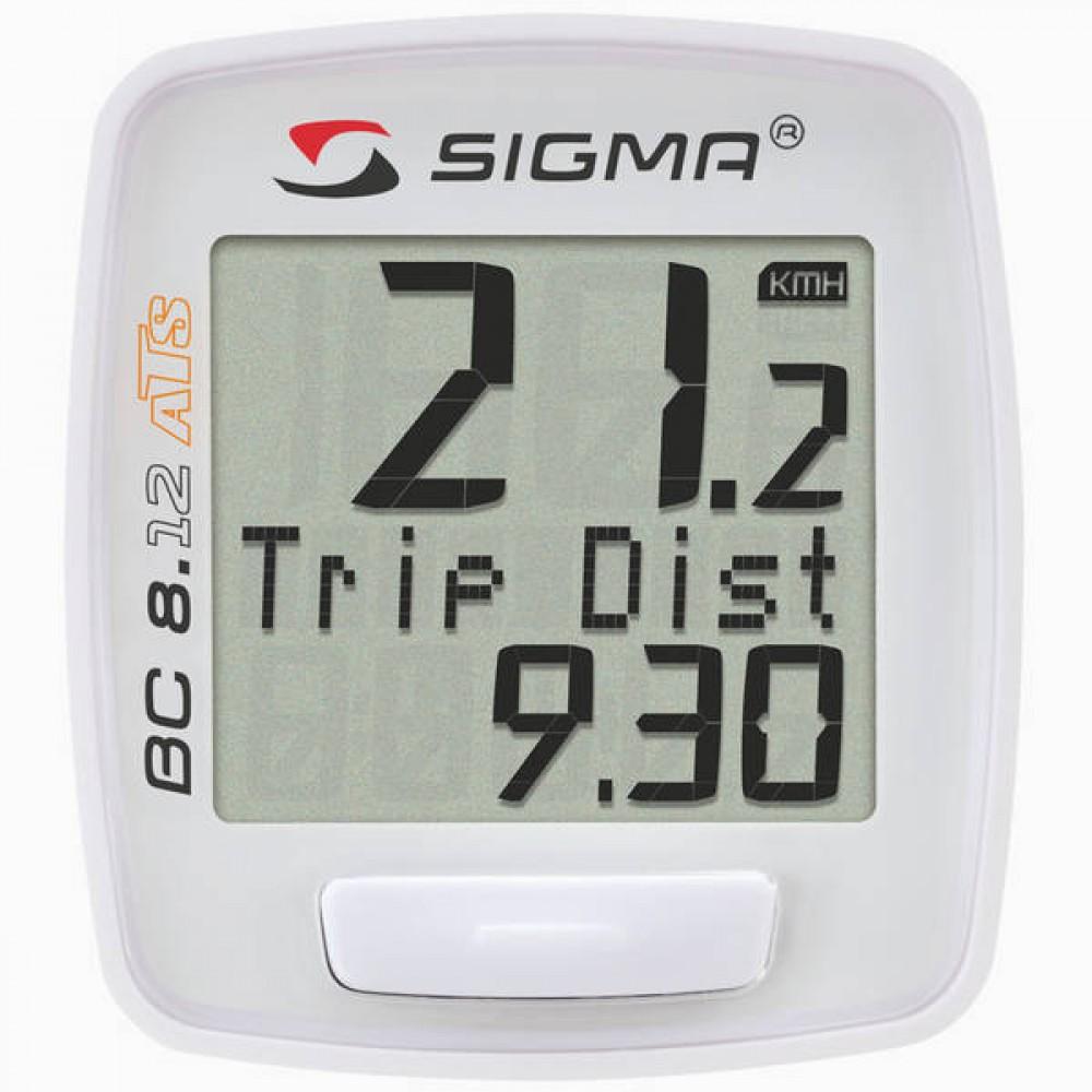 Sigma  велокомпьютер BC 8.12 ATS