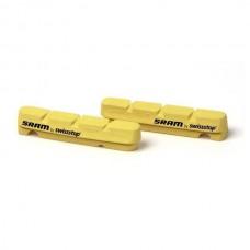Sram  тормоз колодки сarbon  обода  Road Yellow Qty 2