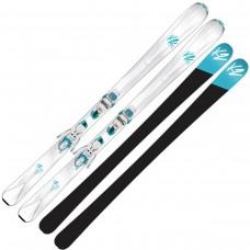 Горные лыжи K2 Luvit 76 ER3 10 Compact white-teal
