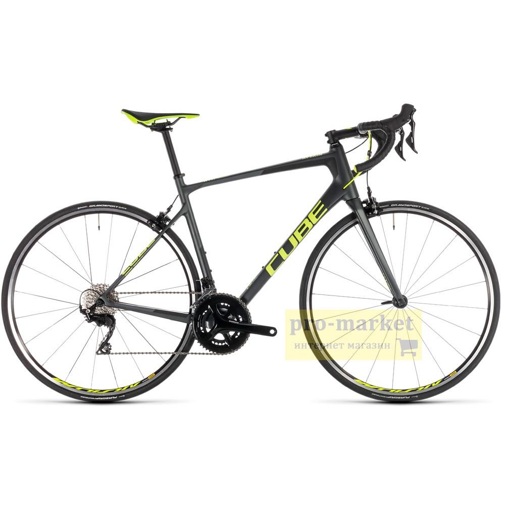 Велосипед шоссейный Cube Attain GTC Pro (2019)
